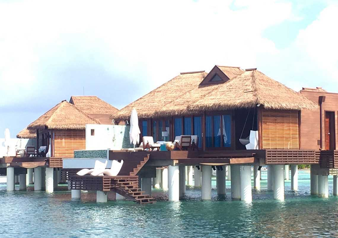 Sandals Royal Caribbean Overwater Bungalows. Construction ...