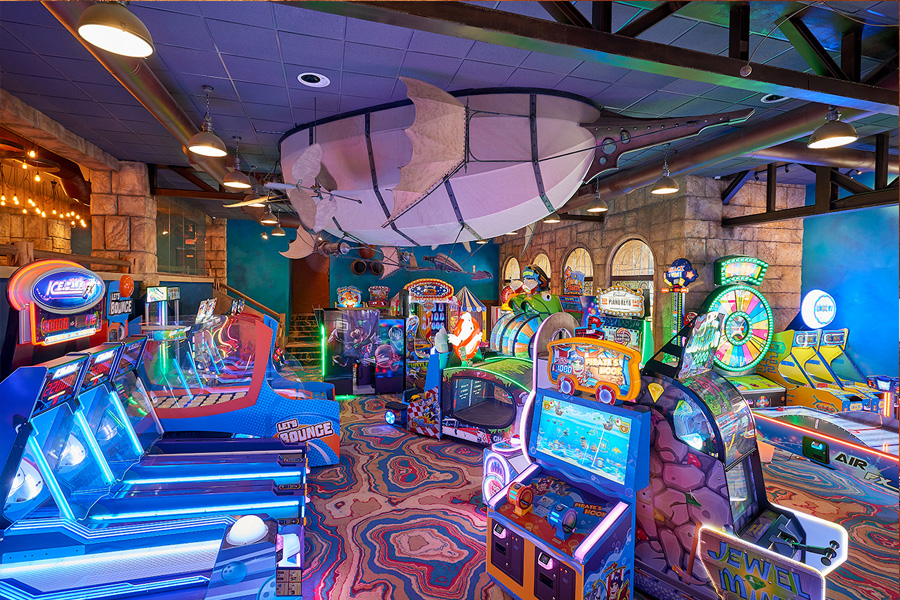 Coral Cliff Gaming Lounge Renovation